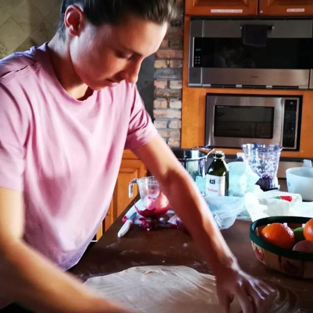 Petra Martić koristi slobodno vrijeme da isproba nova recepte