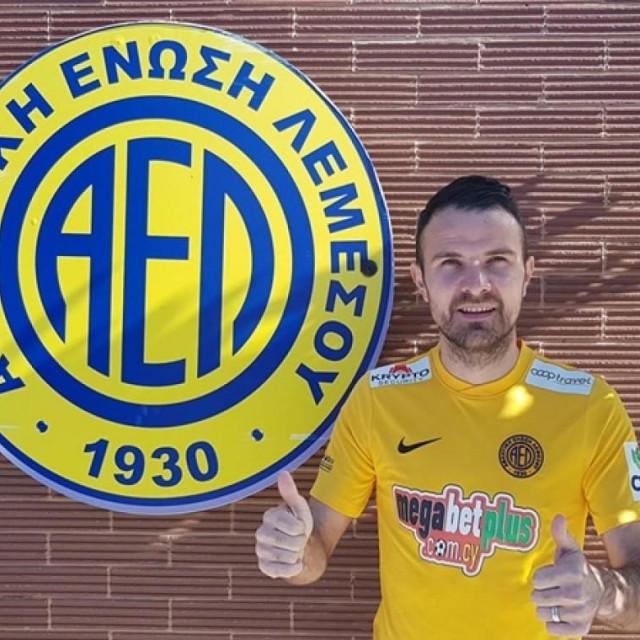 Adnan Aganović, nogometaš ciparskog AEL Limassola