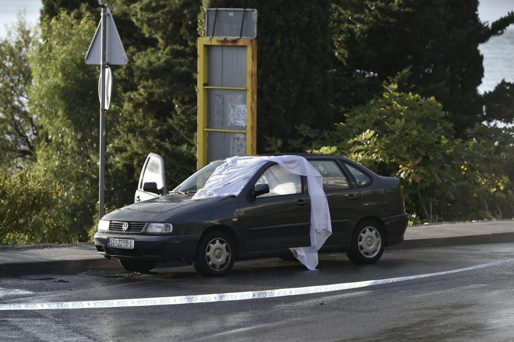 Vozilo u kojem je ubijen Karmelino Fistanić