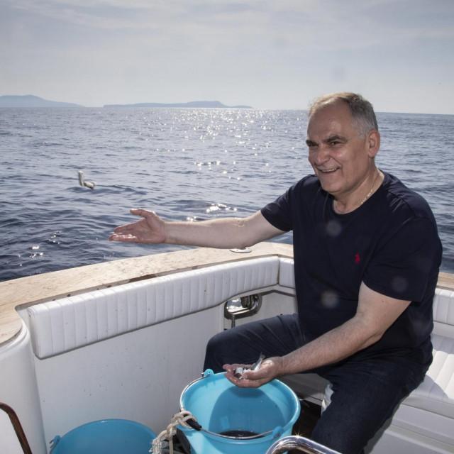 Blaženko Boban u ribolovu