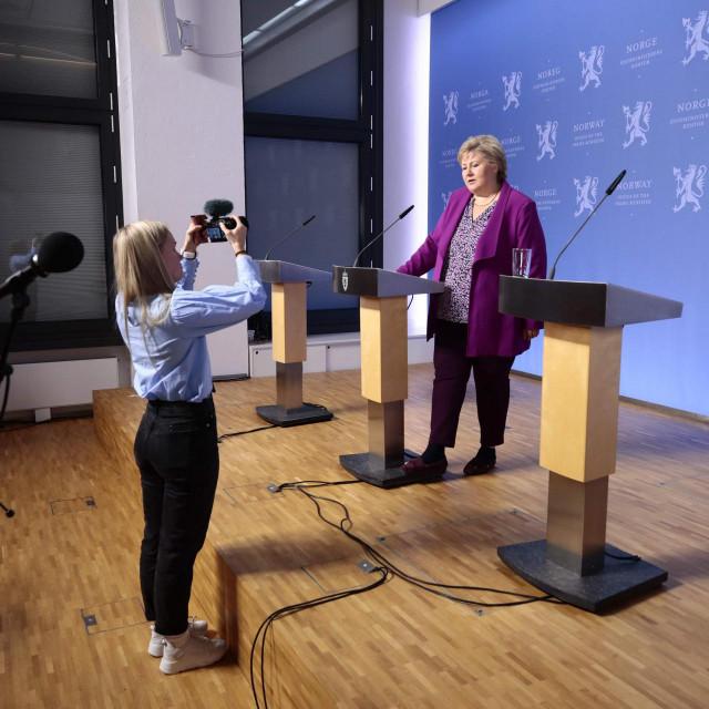 Norveška premijerka Erna Solberg