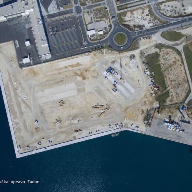 Novi gospodarski terminal u Gaženici