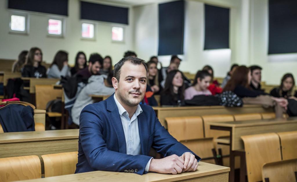 Dekan Veleučilišta u Šibeniku Ljubo Runjić<br />