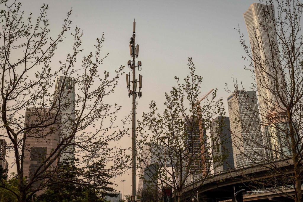 Toranj za 5G mrežu u Pekingu