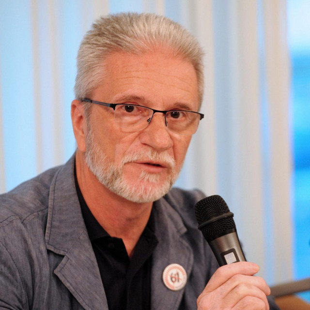 Predsjednik Nezavisnih hrvatskih sindikata Krešimir Sever