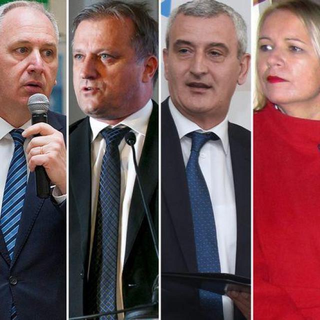 Milan Bandić, Andro Krstulović Opara, Branko Dukić, Damir Mandić, Kristina Ikić Baniček i Mato Franković