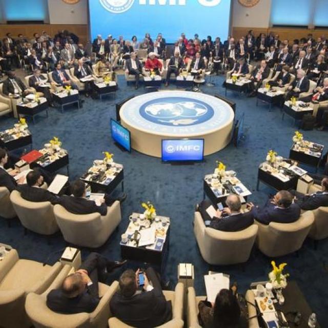 Iustracija, sastanak MMF-a i Svjetske banke