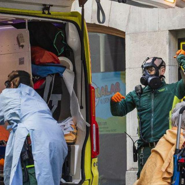 Transport pacijenta u Švedskoj