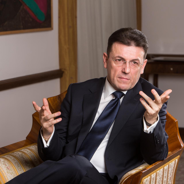 Predsjednik HGK Luka Burilović