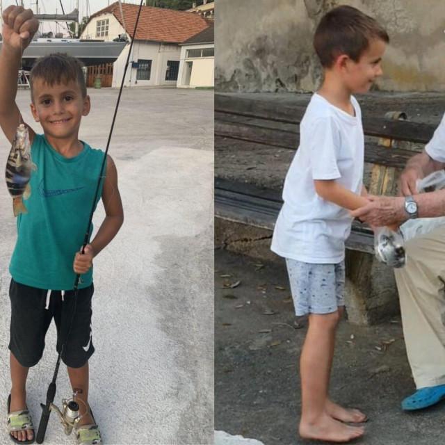 Mali ribar i barba Slavko