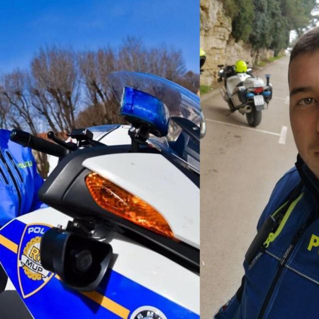 Već danima pulska policajka Anita Prgomet Buić i njezin kolega Tomislav Soldo također iz Pule pravi su hit na društvenim mrežama.