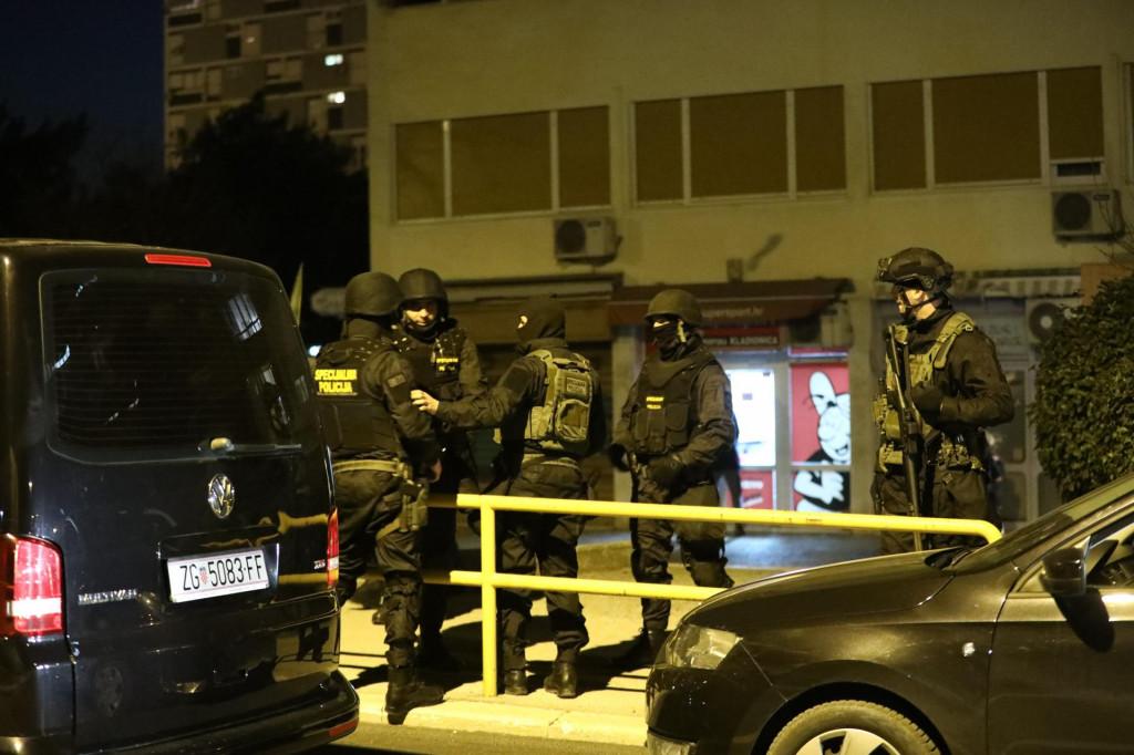 Noćna policijska akcija u Splitu