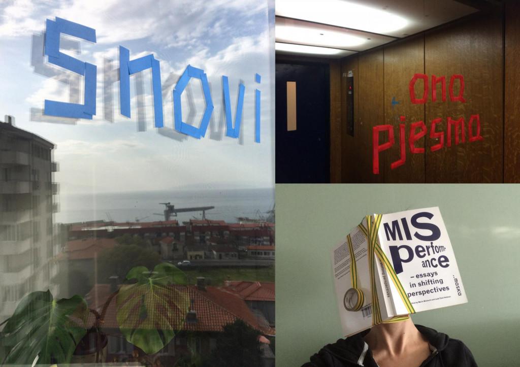 Prvi #kucniperformans pod nazivom 'Izbjegavanje kratkog spoja' osmislila je Milijana Babić