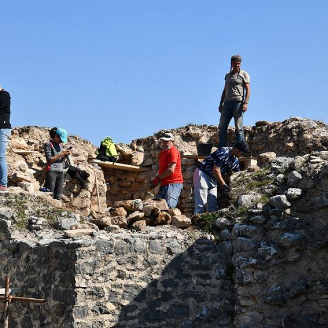 Arheološko istraživanje na utvrdi Nečven