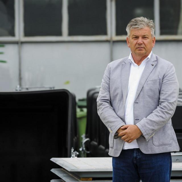 Novica Ljubičić, direktor komunalne tvrtke Zeleni grad