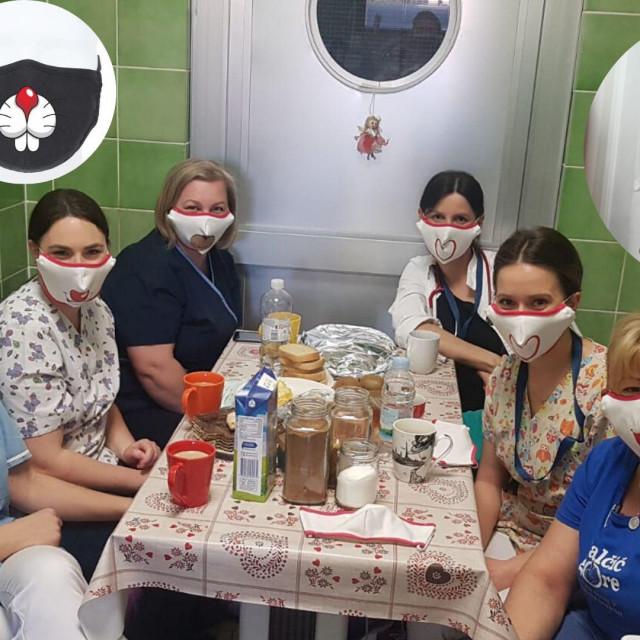 Jedna od najuspješnijih hrvatskih dizajnerica, Kristina Burja, koja stoji iza imena Krie Desig, počela je dizajnirati zaštitne maskice te ih donirati medicinskim djelatnicima, uključujući i zadarskim odjelima