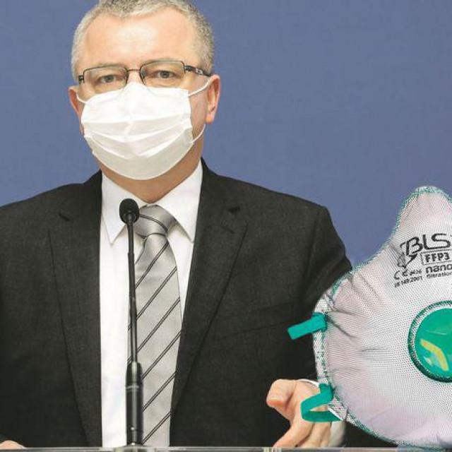 Ministar gospodarstva traži od naše tekstilne industrije: 'Pokušajte proizvesti FFP3 maske'