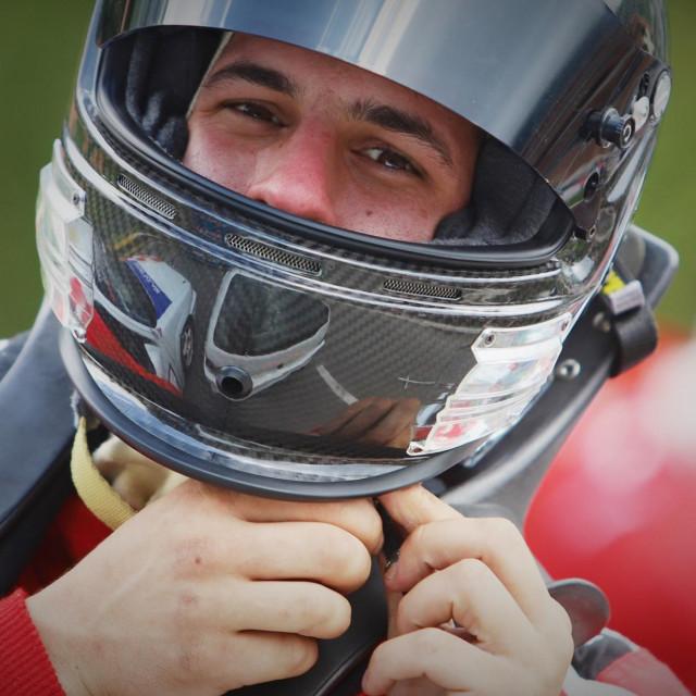 Maroje Batina, automobilist Dubrovnik Racinga, aktualni doprvak Hrvatske u grupi 'N' te pobjednik klase N1 foto: Tonči Vlašić