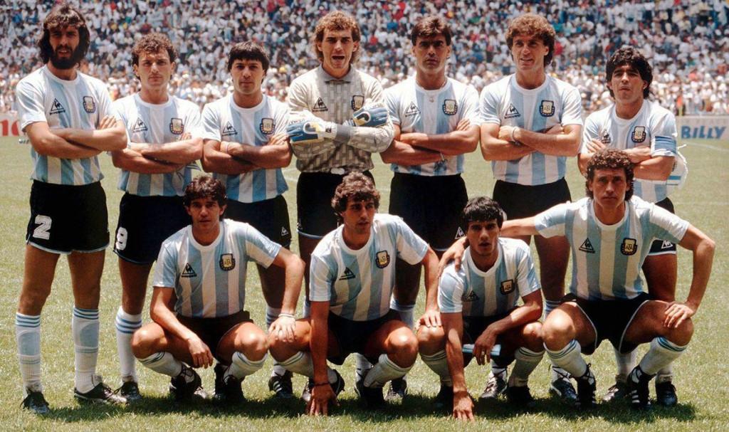 Legendarna reprezentacija Argentine koja je osvojila Svjetski kup 1986. godine