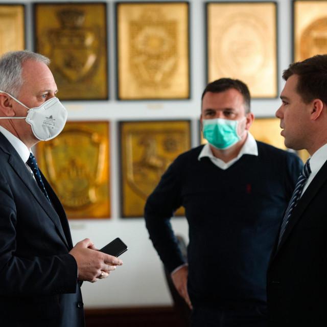 Andro Krstulović Opara, Igor Stanišić i Petar Škorić