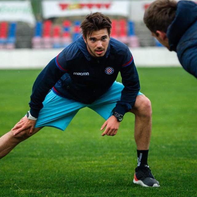 Mario Vušković se zagrijava za nastavak sezone