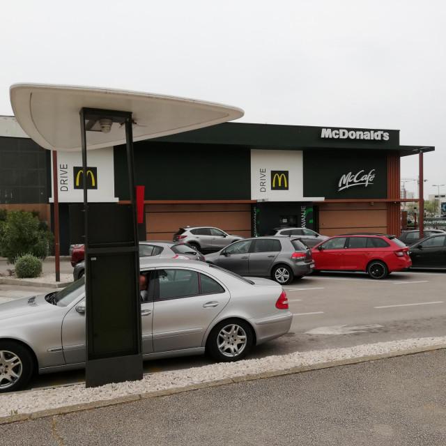 Zadarski McDonalds radi dobro i u uvjetima pandemije koronavirusa