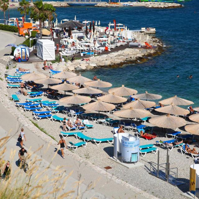 Hoćemo li za par mjeseci gledati turiste koji se sunčaju i kupaju na plaži u koncesiji hotela 'Radisson Blu'?