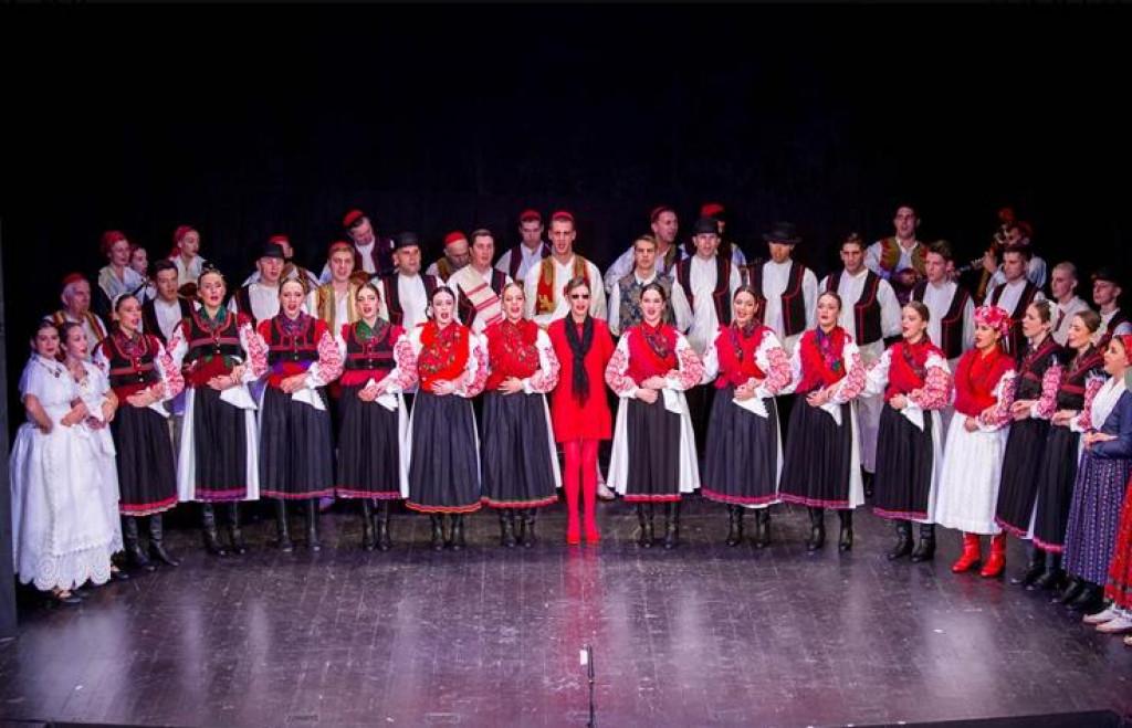 Folklorni ansambl Linđo u KMD-u
