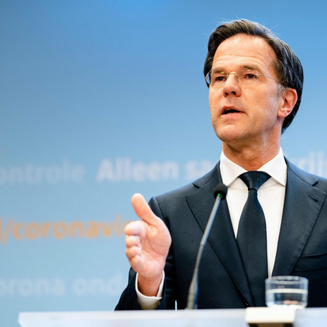 Nizozemski premijer Mark Rutte