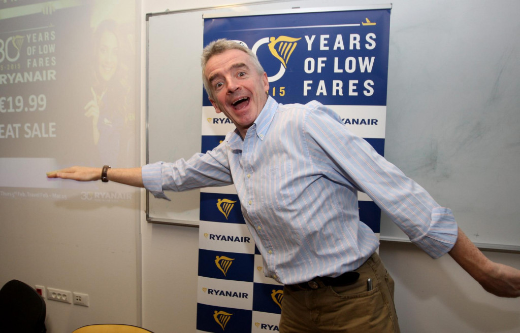 Michael O'Leary, izvrsni direktor kompanije Ryanair