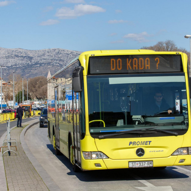 Javni prijevoz se od početka idućeg tjedna vraća na staro