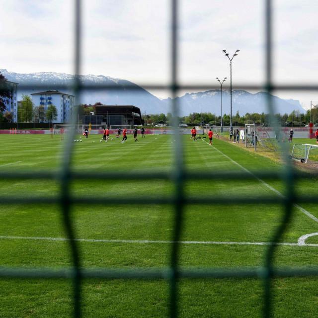 I nogometaši RB Salzurga počeli su s treninzima