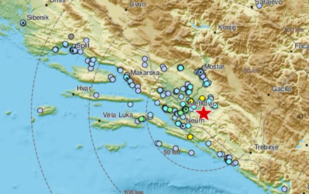 Slobodna Dalmacija - Snažan potres pogodio Hercegovinu ...