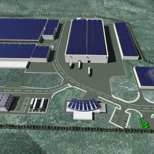 Kompjutorska simulacija Centra u Lećevici