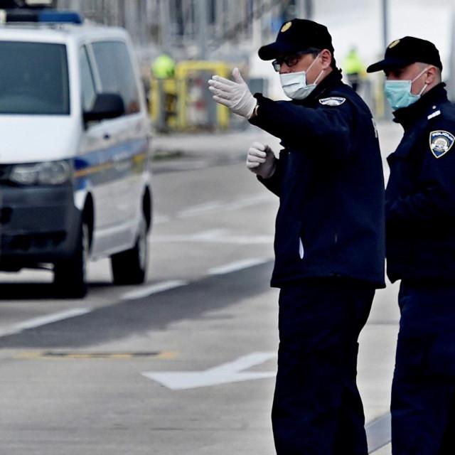 Zagrebačka policija ženu je kazneno prijavila za širenje i prenošenje zaraznih bolesti