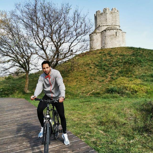 Rok Stipčević nakon izlaska iz samoizolacije dnevno odvozi 60 kilometara na biciklu