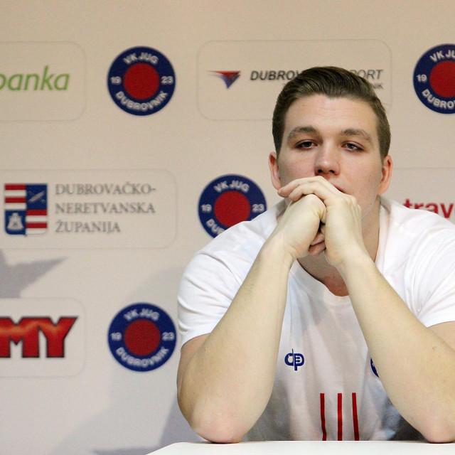 Daniil Merkulov, ruski reprezentativac u kapici Jug Adriatic osiguranja foto: Tonči Vlašić