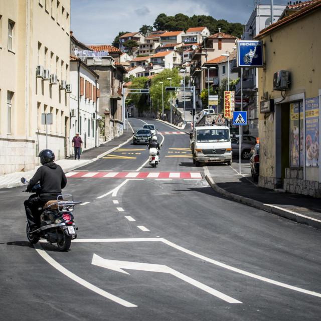 Otvorena obnovljena Zvonimirova ulica u Šibeniku
