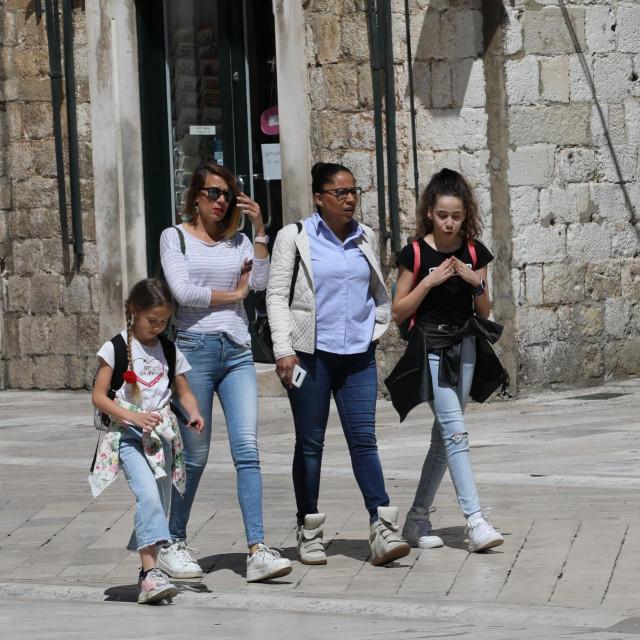 špica iz Grada, Dubrovnik, 30.04.2020.