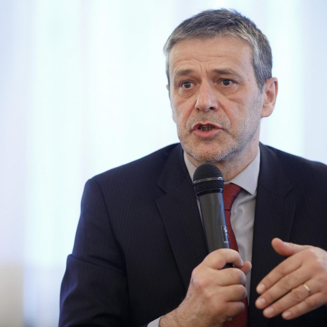 Davor Huić, predsjednik Udruge poreznih obveznika 'Lipa'