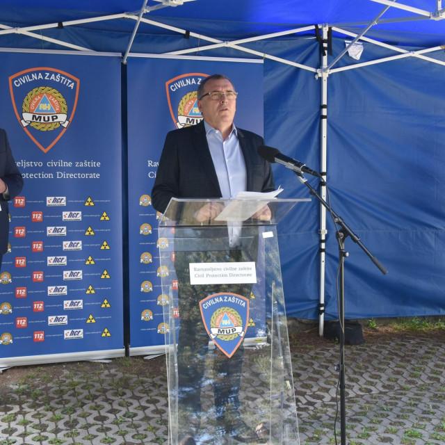 Nacionalni stožer civilne zastite održao je redovitu konferenciju za medije<br />