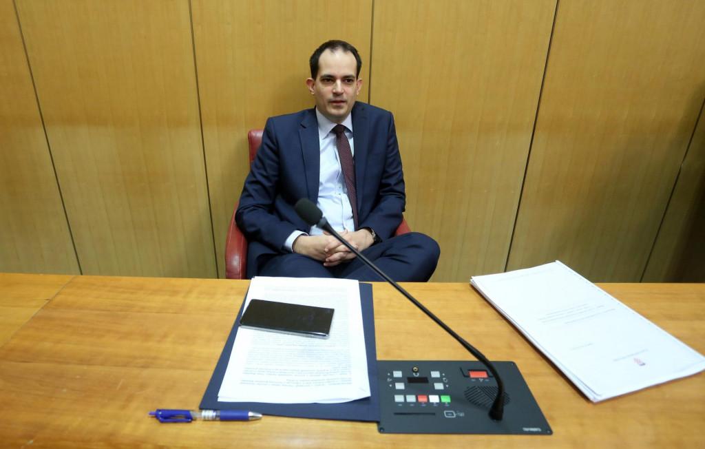 Ivan Malenica, ministar uprave