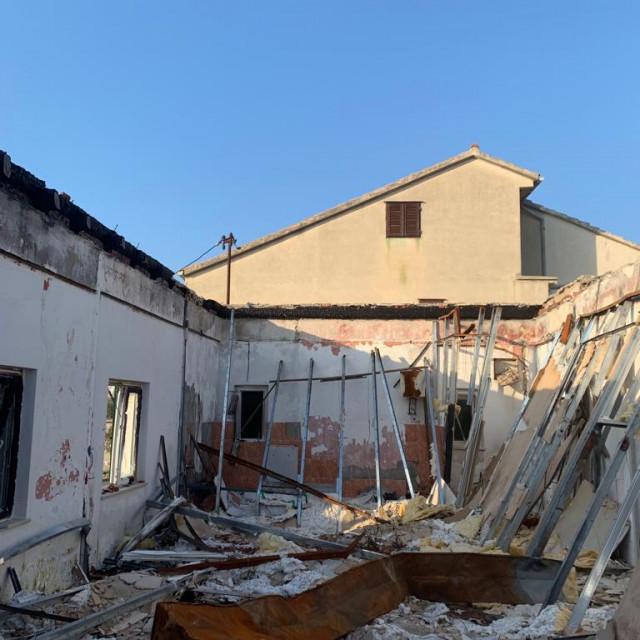 Ambulanta na Kapriju stradala u požaru bit će obnovljena novcem iz EU