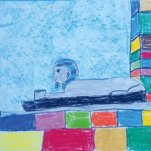 Leda Cigić, 8 godina