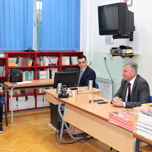 Šibenski gradonačelnik Željko Burić sastao se s ravnateljima osnovnih škola