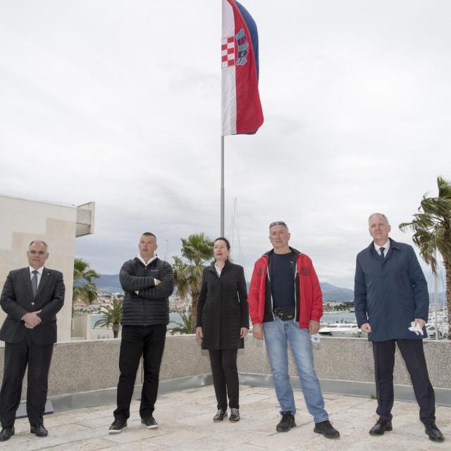 Blaženko Boban, Ivica Balić, Mate Sablić Tijarica i Andro Krstulović Opara