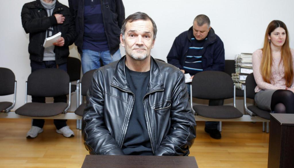 Sa suđenja Iliji Klišaninu prije pet godina<br />
