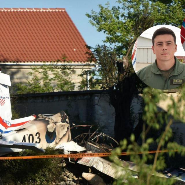 U padu aviona stradali su instruktor Marko Novković i kadet Luka Jagatić'