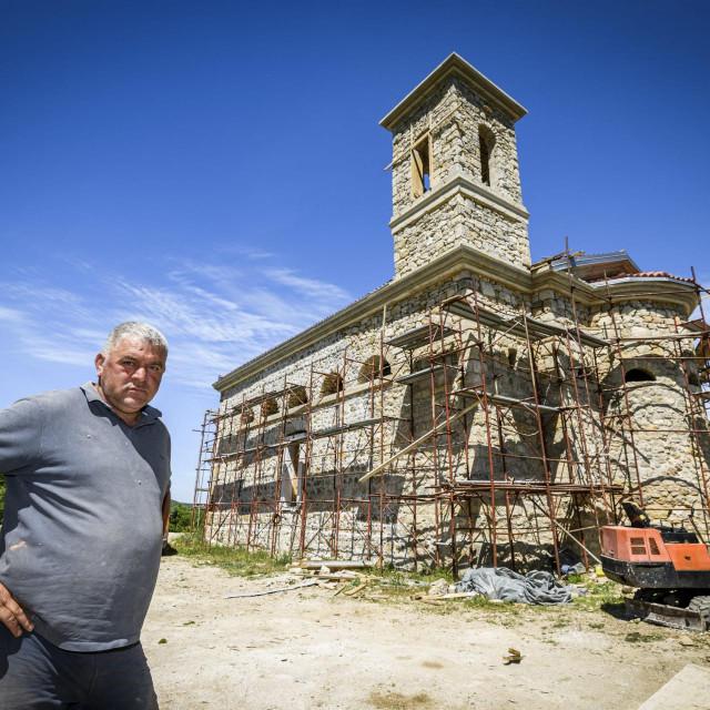 Meštar Ivan Topić Nota posebno vodi računa da izgled bude vjeran izvornoj kamenoj građevini<br />