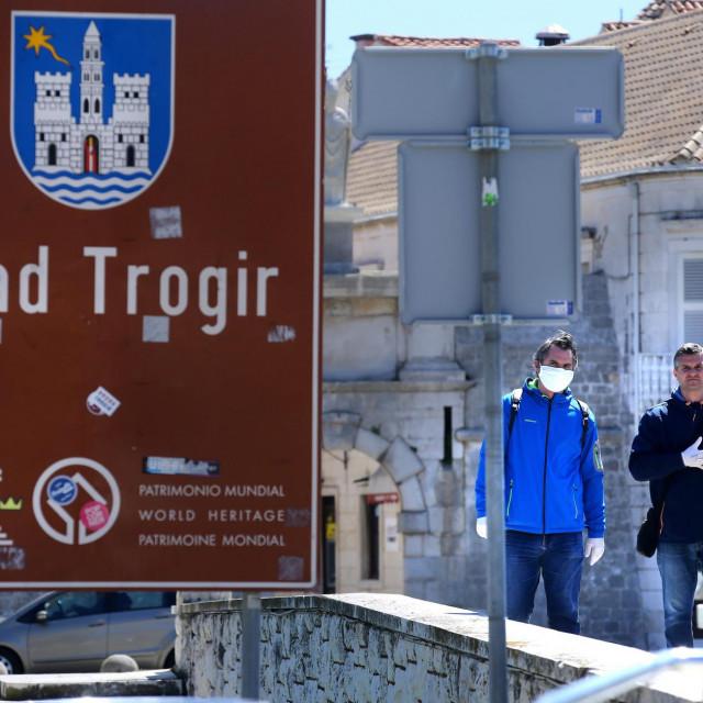 Trogir u doba koronavirusa<br /> Duje Klarić/Hanza Media
